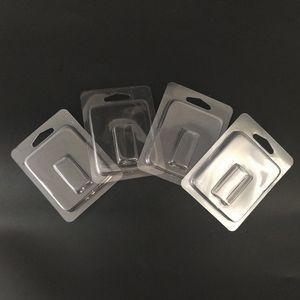 Klare Verpackung Box Vaporizer Zerstäuber Clam Shell Blister Verpackung Box für JUUL Pod Vape Stift Benutzerdefinierte LOGO Leere Hülse Patrone