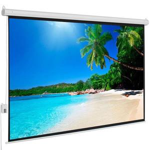 """100-inç, 4: 3 Ekran 80 """"x 60"""" Motorlu Elektrikli Oto HD Projeksiyon Ekranı En İyi Seçim Ürünleri Görüntüleme Alanı Motorlu Projektör Ekranı"""