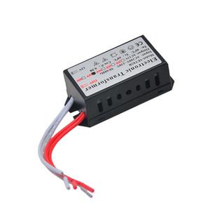 امتياز 60W محول الالكترونية AC 110V إلى 12V الهالوجين ضوء لمبة مصباح حديد الاختزال المباشر النسخة التيار الكهربائي تحويل الجهد أدى الإضاءة