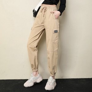 A249-Summer trendy one button skinny pants wide leg pants