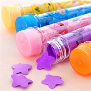 Se laver les mains à usage unique Savons Emballage Test Tube Voyage Portable papier Savon Fleur Kindergarten Enfants Soapslice Protection Produit XD23292