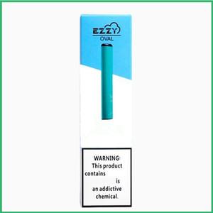 EZZY OVALE jetable appareil Pod Starter Kit 280mAh cartouche Vape batterie Pen avec le code de sécurité VS POP Posh plus EON