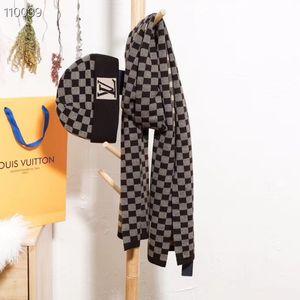 2019 europeo e cappello sciarpa uomini di modo di e set femminili combinazione cappello sciarpa di autunno e lana boutique inverno americano