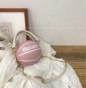 [Bxx] Les femmes single de l'épaule sac à bandoulière All-match Pu cuir grande capacité Tote 2020 Marque Basketball Rivet Sac à main Hi391 # 42858