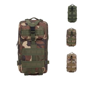 Multi-color new large-capacity backpack camouflage hiking tactical accessories waterproof fabric support mixed batch free shipping