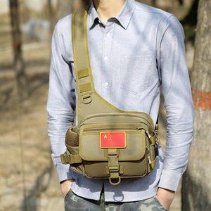 Outdoor Tactical Crossbody Bag Multi-bolsos Quick Release Buckle Zipper por Cycling HB88