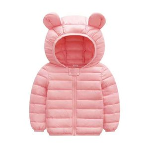 2019 New Children's Clothes Sets Winter Girls and Boys Hooded Down Jackets Coat-Pant Overalls Suit for Warm Kids Clothin
