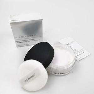 New BYE BYE chegada POROS Poreless Finish Airbrush pó translúcido solto Definir Pó 0.23Oz 6,8g maquiagem rosto de cosméticos em pó