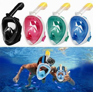 2019 Maschera subacquea anti-perdite Maschera subacquea Maschera da snorkeling antiappannante Maschera da snorkeling per donna Uomo Bambini Attrezzatura da immersione per snorkeling Attrezzatura di sicurezza M10Y