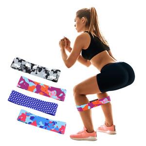 Unisex Ganimet Bant Kalça Daire Döngü Direnç Band Egzersiz Bacaklar Uyluk Glute Butt Squat Bantları için Egzersiz kaymaz Tasarım