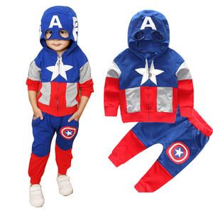 Aile Кролик Новая осень комплекты одежды младенца младенца мальчика дизайнер одежды для малышей мальчиков одежды хлопка малышей устанавливает свободную перевозку груза