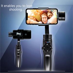 3 Achsen kardanischer Stabilisator für Smartphone Kamera Video Handtelefon mit Stativ Freies Verschiffen