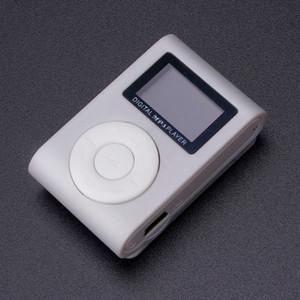 Mini USB Clip MP3 Player LCD Screen Support 32GB Micro SD TF Card Portable MP3 player Mini Clip Player mp3