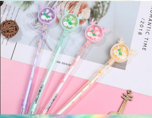 Wholesale gel pens Cartoon Antler little Daisy neutral pen cute creative sequin new signature pen A-002