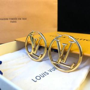 디자이너 보석 귀걸이 럭셔리 보석 귀걸이 여성의 패션 액세서리 발렌타인 데이를위한 최고의 선물
