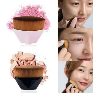 Petal Foundation Brushes for Liquid Face Makeup Diamond Cosmetic Hexagon Make Up Brush Popular 55 Beauty Tools