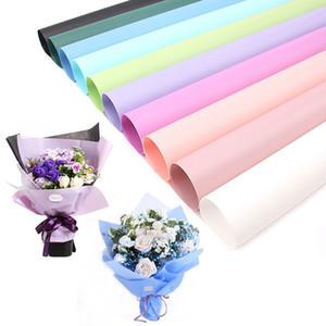 Bouquet di fiori Carta da regalo di plastica Fiore confezioni regalo di alimentazione fiorista di carta Carta da regalo fatta a mano Decor Materiale