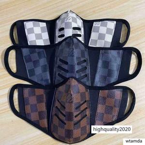 Stil Gesicht Marken unisex waschbar wiederverwendbar Druckmaske trendy Luxus-Designer-windundurchlässige Anti-Staub-Masken Radfahren