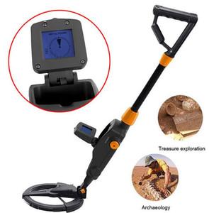 Alta Qualidade Handheld Metal Detector de Pesquisa Digger Ouro Hunter Treasure Tracker Seeker + Bobina de Busca À Prova D 'Água para Crianças