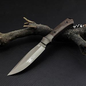 Kelebek sabit bıçak 440C çelik bıçak açık kamp aracı avcılık sağkalım keten kolu taktik hediye düz bıçak