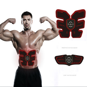 In Stock ! New Electric Abdominal Muscle Stimulator Exerciser Trainer Unisex Smart Fitness Gym Stickers Pad Arm Body Training Massager Belt