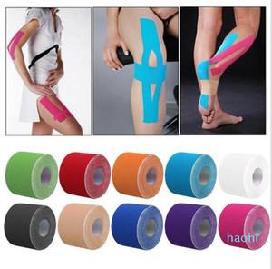 Kinesio Tape-Muscle-Verband Sport Kinesiology Tape-Rolle Elastic Adhesive Strain Injury Muscle Aufkleber Kinesiology Tape-Muskel-Verband
