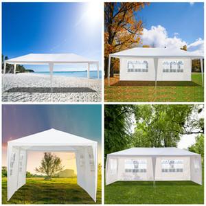 3 × 6M أربعة الجانبين خيمة ماء حفل زفاف خيمة ث / لولبية أنابيب الأبيض الصفقة الكبرى
