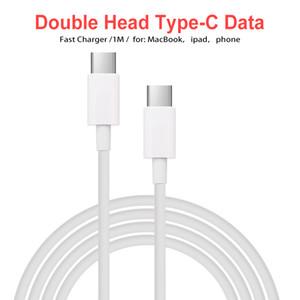 USB a USB C C Tipo C cavo maschio a maschio PD 5A di ricarica rapida Cavo dati per MacBook per Samsung Google
