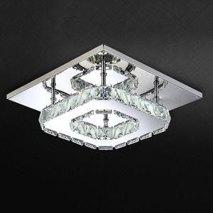 Place LED Lustre en cristal clair pour Aisle Porche Escaliers Corridor wth Ampoule LED 12 Watt Garantie 100%