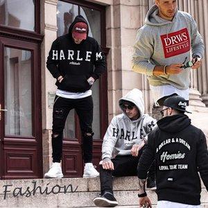 Thefound 2019 새로운 패션 남성 캐주얼 후드 힙합 스케이트 보드 스웨터 스웨터 코트