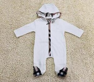 Boy Jumpsuits Designer Toddler Newborn Baby Boys Girls Cotton Romper Brand Tag Jumpsuit Outfit Summer Clothes