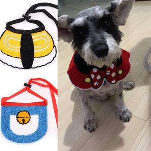Asciugamani multicolore Diva Saliva INS Personaggi dei cartoni animati belli Modellistica Accessori per cani Animali domestici Bavaglini Gatti gialli Cani Bavaglino 6 7gg L1