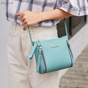Women Fashion Crossbody Bag Casual Solid Color Single Shoulder Satchel Zipper Mini Messenger Bag Pu Leather Pu Purses And Handbags