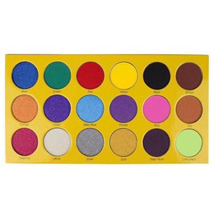 Makeup eye shadow palette BOX OF CRAYONS Eyeshadow iShadow Palette 18 Color Shimmer Matte Eyeshadow Palette free delivery