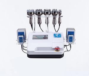 40K 초음파 cavitation 다극 RF 8 패드 LLLT lipo 레이저 진공 지방 흡입 기계 슬리밍 기계 스킨 케어 살롱 스파