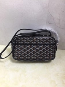 2020 Hot Sales Brand New Fashion Men's Women's Goya Cross Body Gy Camera Bag Genuine Leather Paris style Flap Free shipping