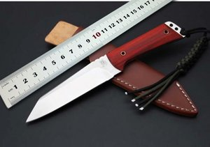 New High Quality Wild Boar 9CR18MOV Blade Hunting Fixed Knives Wood Handle Outdoor Knife Survival Knife Tools