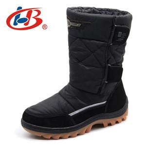 LIBANG men's men's boots winter shoes waterproof men winter Snow Boots Winter Shoes for Men high boots for men