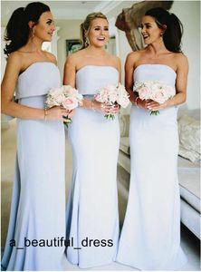 Оптовая цена длинные платья подружки невесты для подростков шифоновые оболочки без бретелек платья для свадебных вечеринок невесты платье