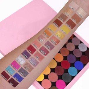Ky nuevos cosméticos de maquillaje Paletas magnética Kylie Vacío grandes Pro paleta de 28 colores Kylie Jenner sombra de ojos paleta de sombra de ojos Paletas