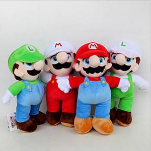 25 см Super Mario Bros плюшевые игрушки Марио и Луиджи мягкие животные плюшевые игрушки Super Mario плюшевые куклы дети Рождественский подарок 4 цвета
