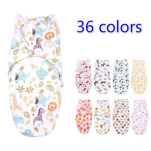 36 الألوان 2019 الساخن بيع swaddleme الطفل أكياس النوم sleepsacks الطفل يلف الرضيع التقميط النوم حقيبة الرضع القطن التفاف أكياس