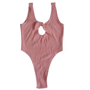 2018 été nouveau sexy femmes manches moulante Bandage Sexy Bodysuit Jumpsuit court solide mélange de coton Romper Débardeurs