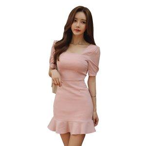 Ladys kleines duftendes Stil Hüfte Kleid der Frauen des Sommer neue ins Super Feuer Rock
