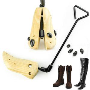 Ajustável Comprimento Botas Expander Universal Salto Alto Madeira Professional Prático Shoe Unisex Keeper Maca Bending crack