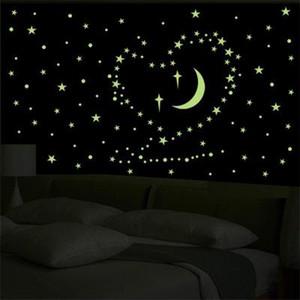 20190623 lua, estrela, parede da luz da noite