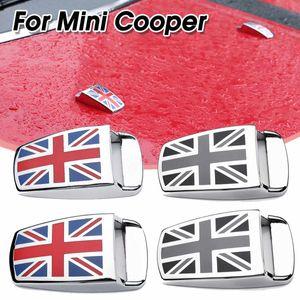 2 adet Cam Silecek Su Püskürtme Memesi Kapak Kapaklar Trim Mini Cooper S Için Kapak Etiket R55 R56 R60 R61 F54 F55 F56