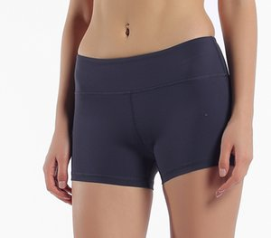 요가 짧은 바지 여름 뜨거운 여성 캐주얼 높은 탄성 허리 꽉 피트니스 슬림 스키니 반바지 단색 컬러 여성 소녀 운동 반바지