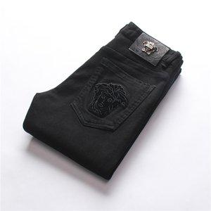 Fanc Top Quality Men's Wear Original Design Men Fashion Jeans Straight Trousers Slim And Comfortable Elastic Jeans