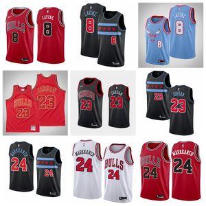 2019 New Michael Lauri Markkanen ChicagoBullsMen Jor dan Zach LaVine High Quality Basketball Jersey White S-XXXL